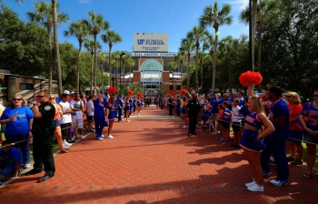 Florida Gators Gallery: Gator Walk vs. Idaho
