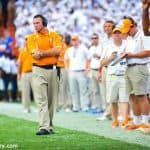 Butch Jones, Tennessee Volunteers, Ben Hill Griffin Stadium, Gainesville, Florida