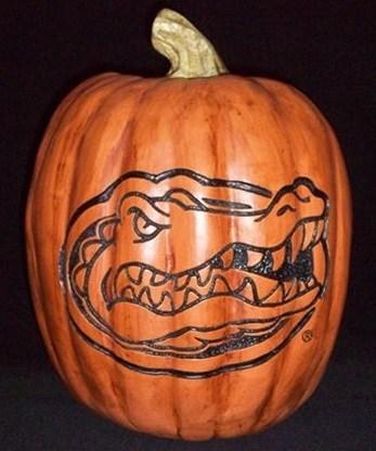 Florida Gators Pumpkin Jack o Lantern