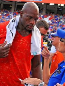 Florida Gators: WWE Superstar O'Neil as Mr. Two Bits