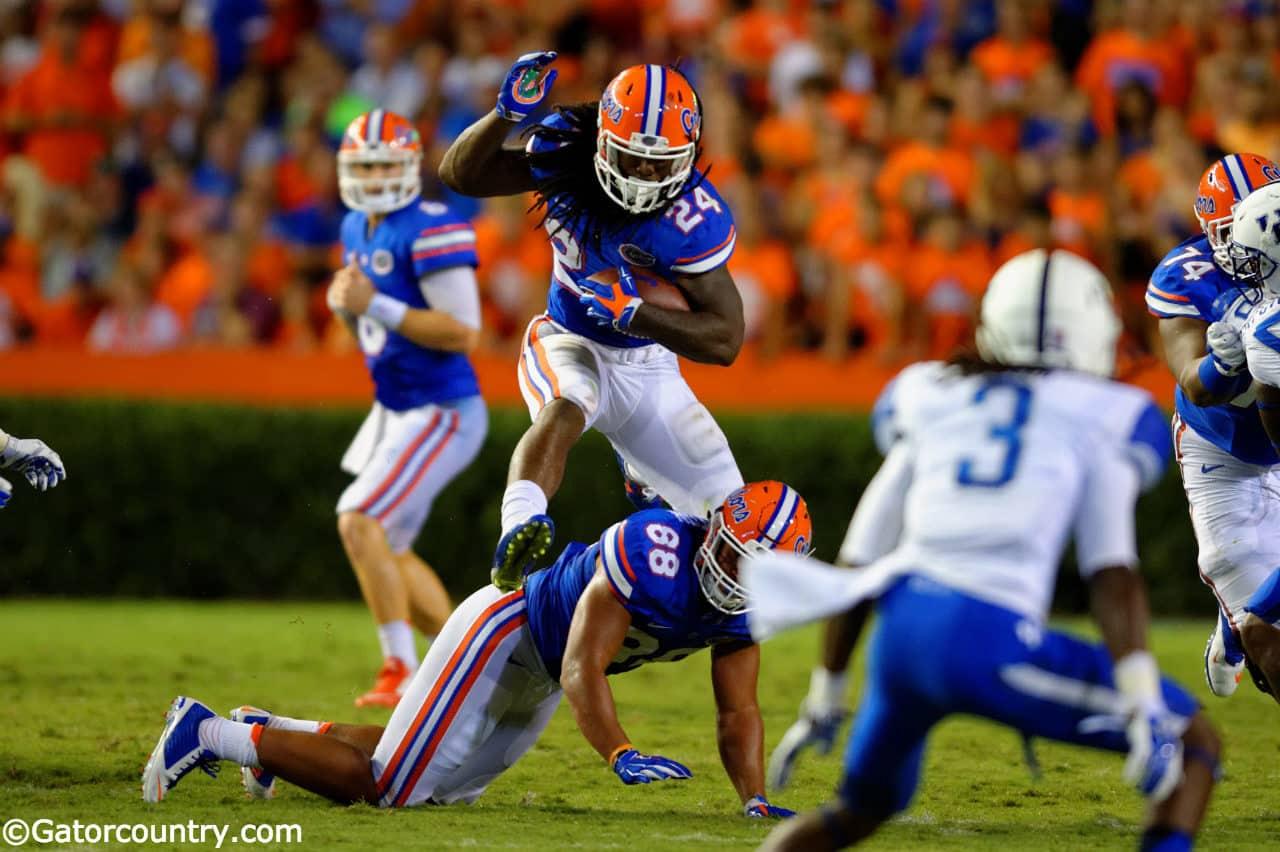 Florida Gators Football: Jones runs wild on Kentucky ...