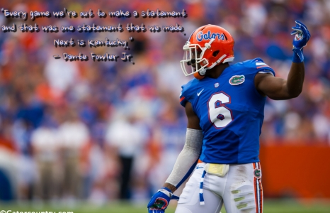 Florida Gators make first of many statements in 2014