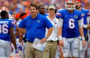 Will Muschamp, Jeff Driskel, Ben Hill Griffin Stadium, Gainesville, Florida