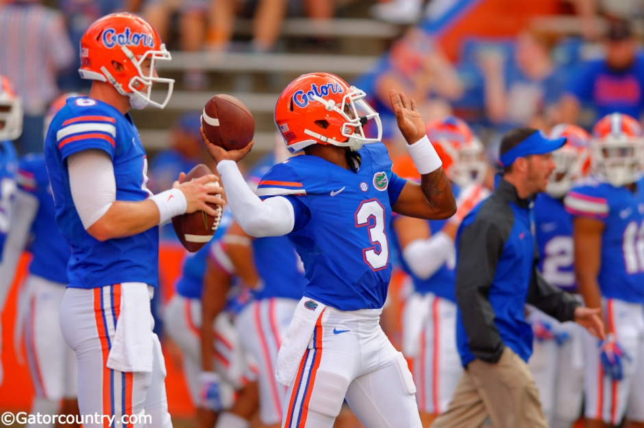 Treon Harris, Jeff Driskel, Ben Hill Griffin Stadium, Gainesville, Florida