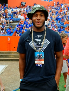 Florida Gators targets in the Under Armour All-American Game