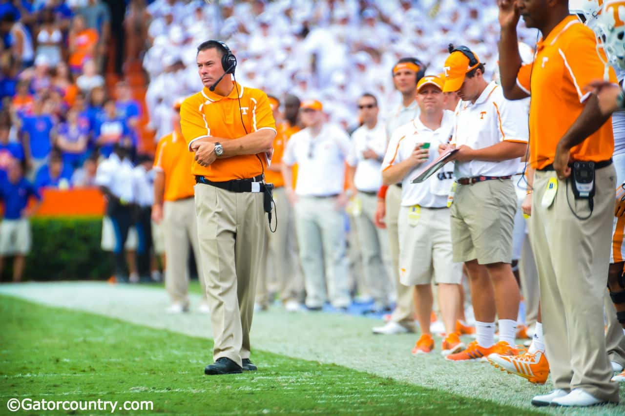 Florida Gators 2015 opponent preview: Tennessee Volunteers