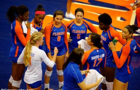 Florida Gators Volleyball sweeps Arkansas