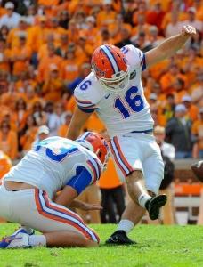 Hardin's kick lifts Florida Gators past Tennessee