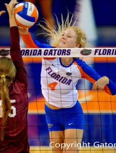 Florida Gators Volleyball clinches share of SEC title