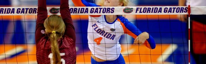 Florida Gators volleyball sweeps JMU in the season opener