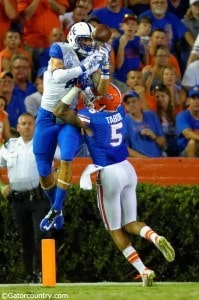 Jalen Tabor, Ben Hill Griffin Stadium, Gainesville, Florida