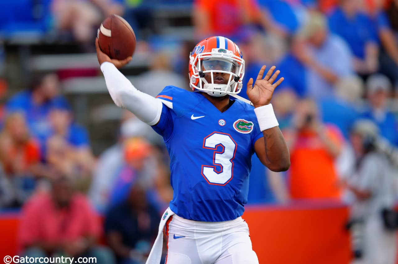 Treon time for Florida Gators