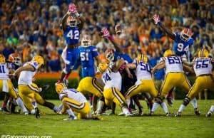Keanu Neal, Darious Cummings, Bryan Cox Jr., Ben Hill Griffin Stadium, Gainesville, Florida
