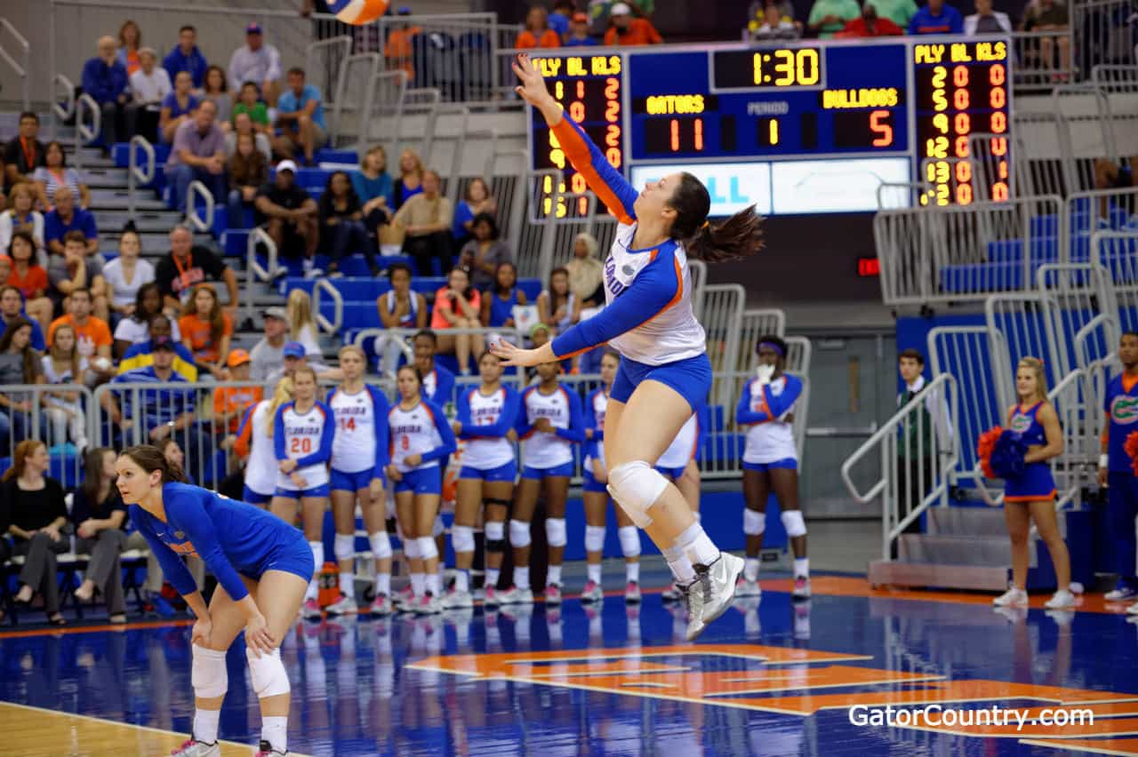 Florida Gators Volleyball wins SEC Championship
