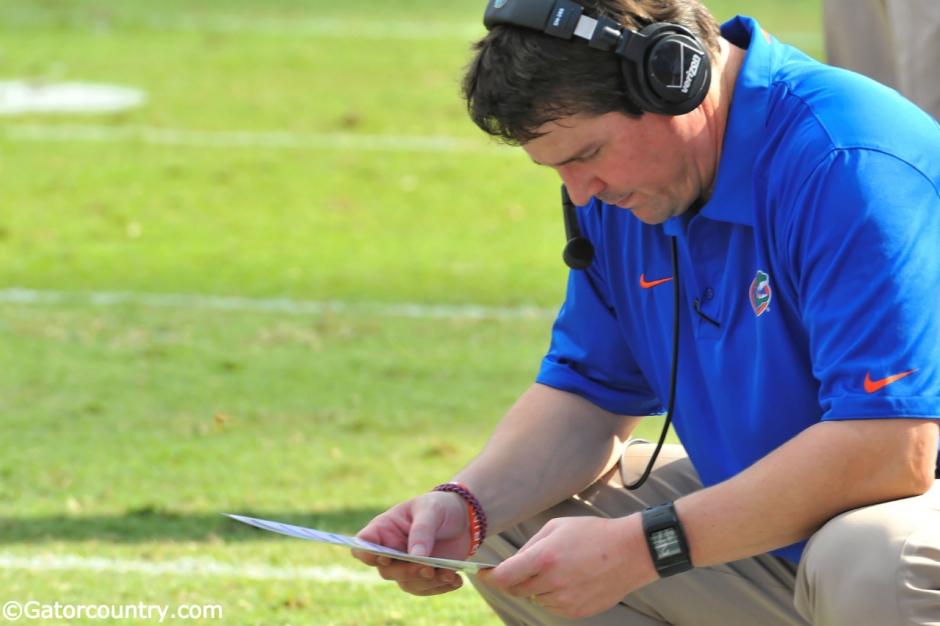 Will Muschamp, Ben Hill Griffin Stadium, Gainesville, Florida
