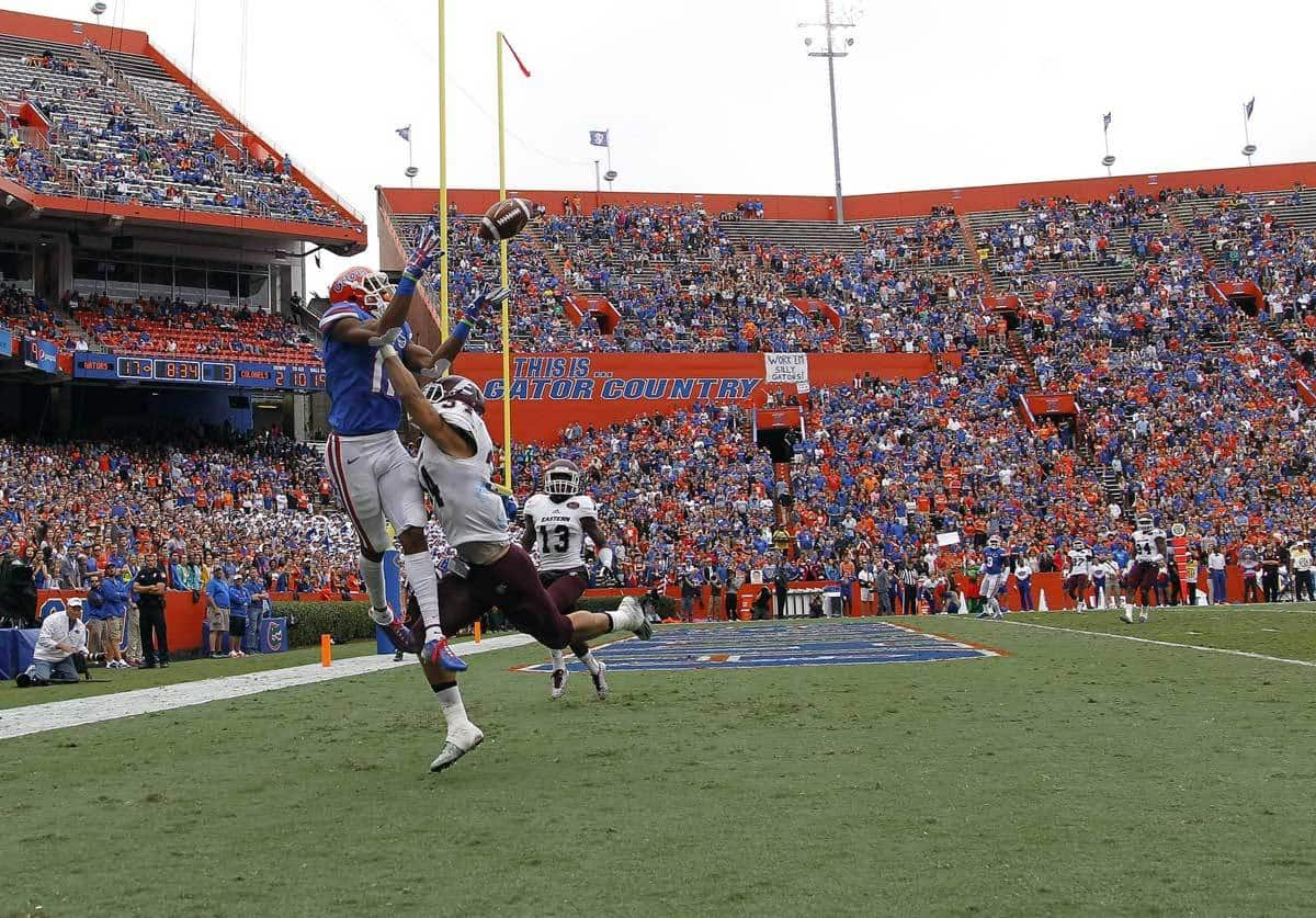 Florida Gators Football: Gators Rout EKU, 52-3
