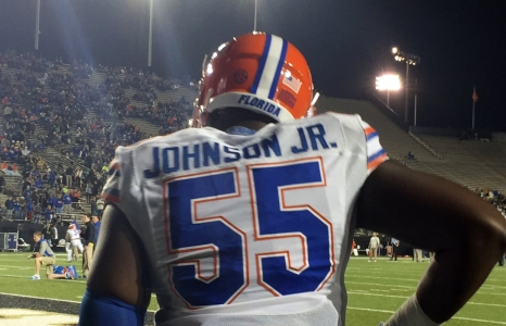Florida Gators football: Johnson's love of the game shows