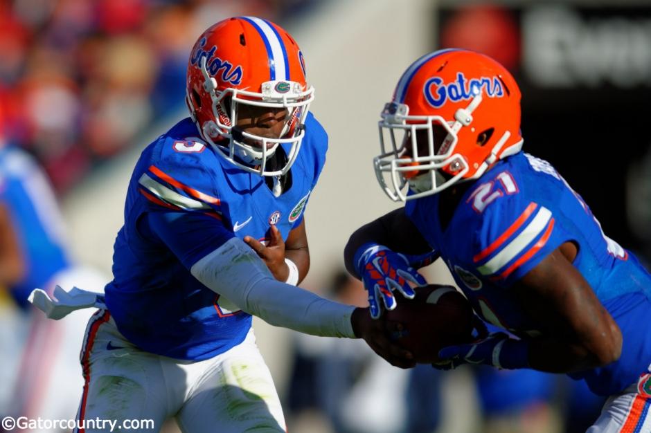 Treon Harris, Kelvin Taylor, Ever Bank Field, Jacksonville, Florida