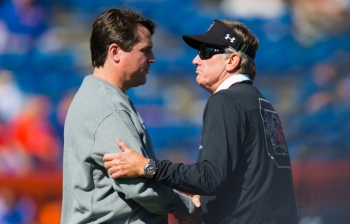 Spurrier empathizes with Will Muschamp