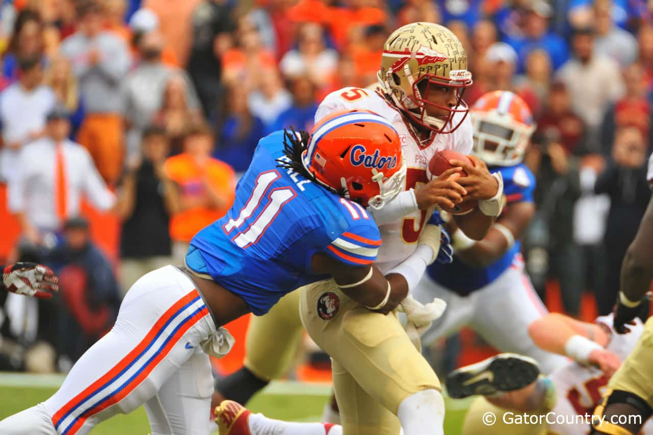 Florida and Florida State will renew their rivalry Saturday in Tallahassee. The Gators lead the series 34-22-2.
