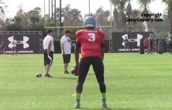 Video: Deondre Francois at Under-Armour Practice