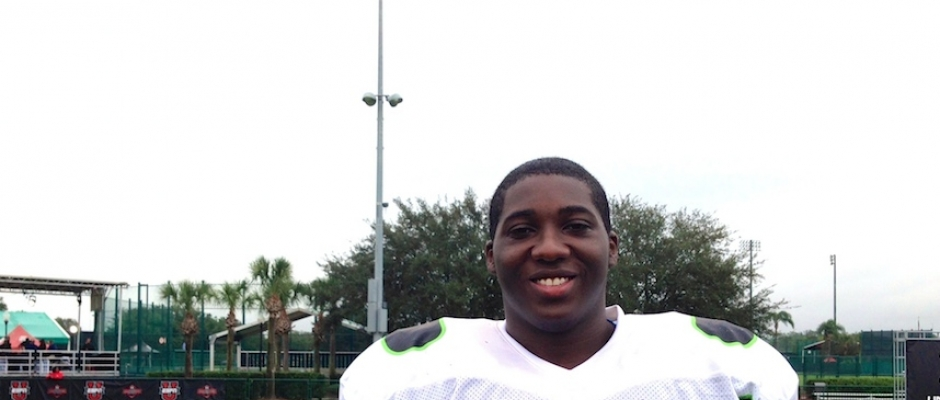 Video: Tyree St. Louis on Disney World & Under-Armour Practice