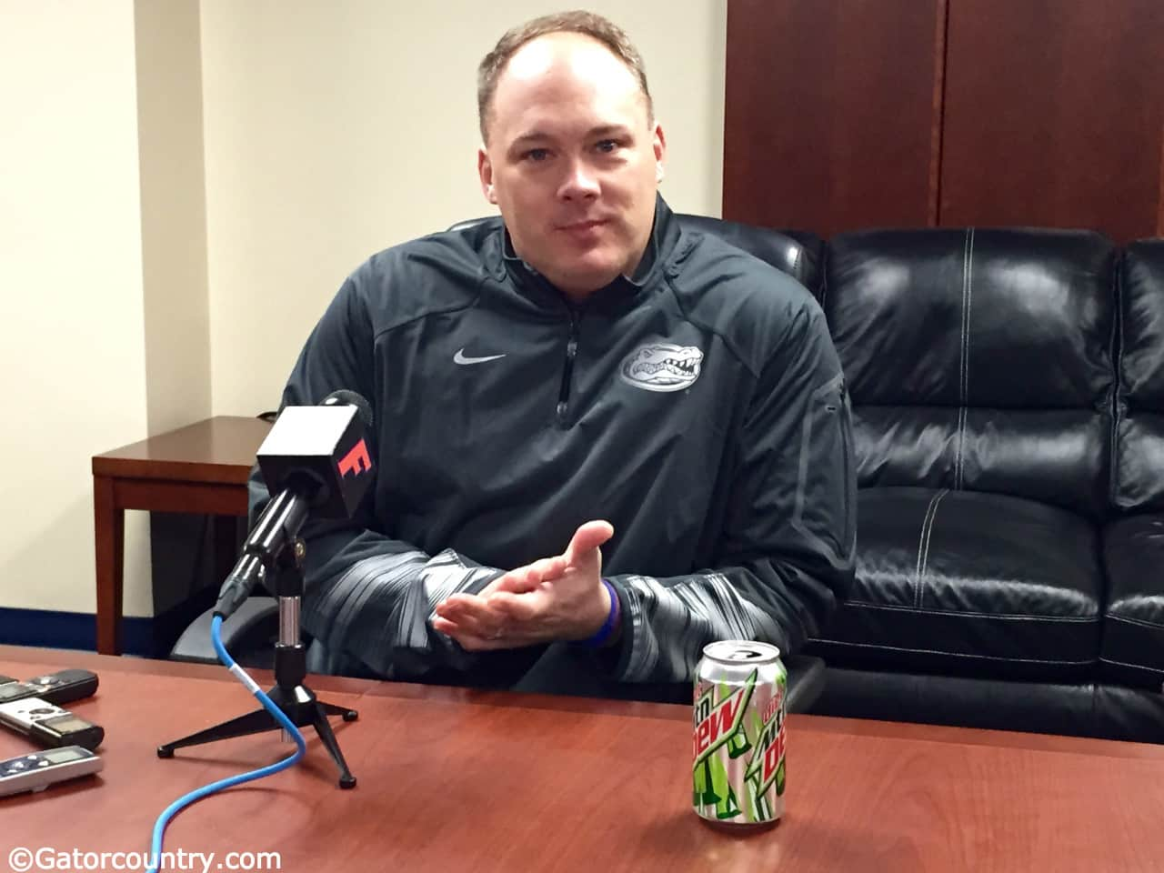 Geoff Collins, Ben Hill Griffin Stadium, Gainesville, Florida