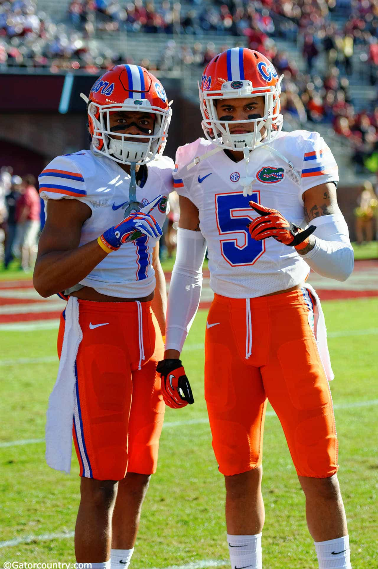 Collins wants Florida Gators to find their own swag