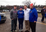 Video: Jim McElwain tailgates with gator fans
