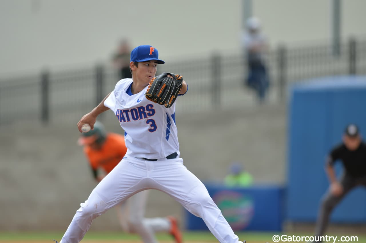 Dunning's career night leads Florida Gators to 5-1 win