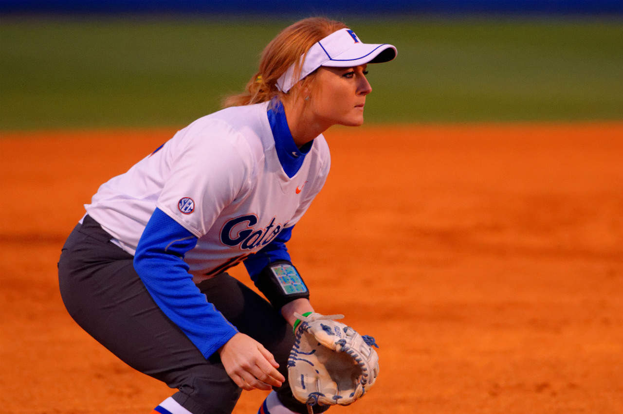 da Gators softball Taylore Fuller