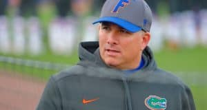 Florida Gators softball coach Tim Walton