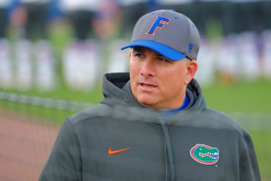 Florida Gators softball coach Tim Walton