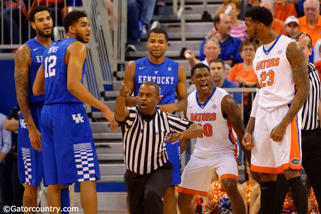 Kentucky Basketball What The Florida Win Means To The: Florida Gators Flirt With Victory But Falter At The Line