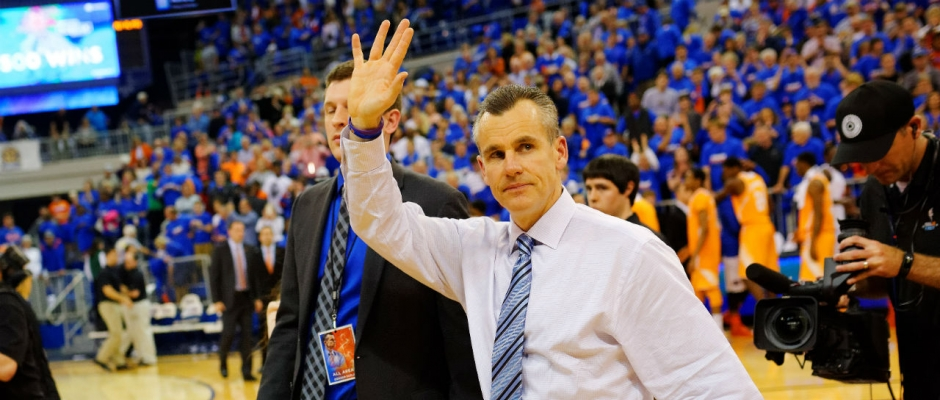 Florida Gators Defeat Tennessee 66-49; Donovan Gets 500th