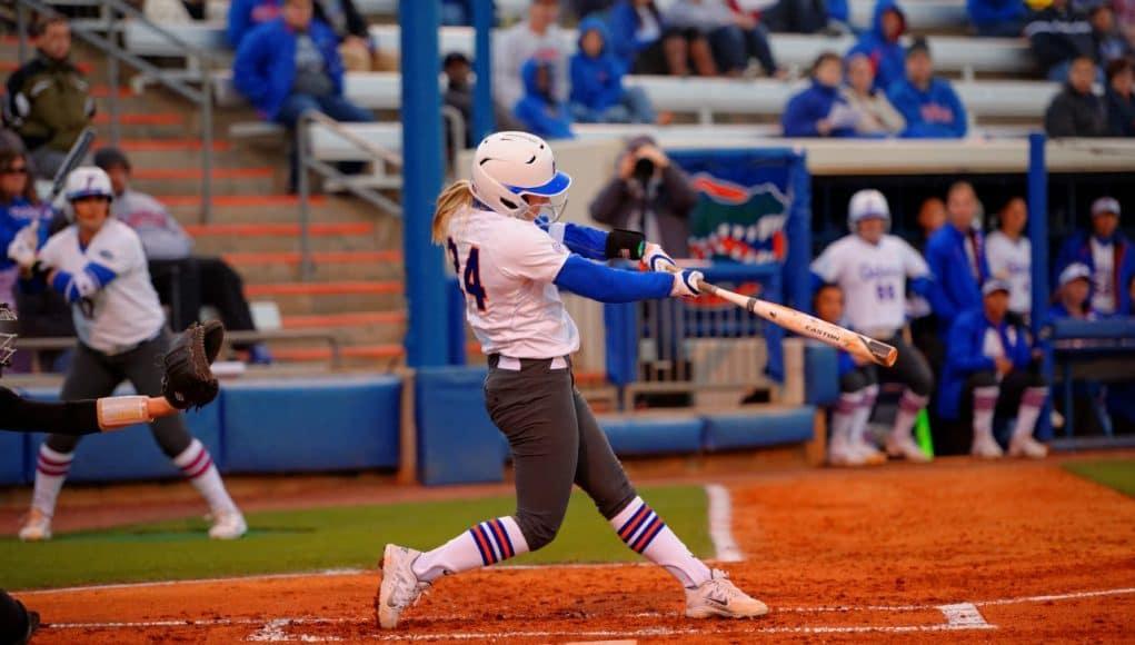Florida Gators softball player Kirsti Merritt