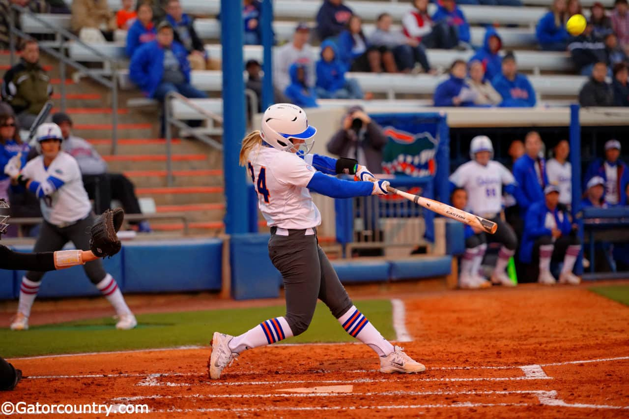 Florida Gators softball player Kirsti Merritt