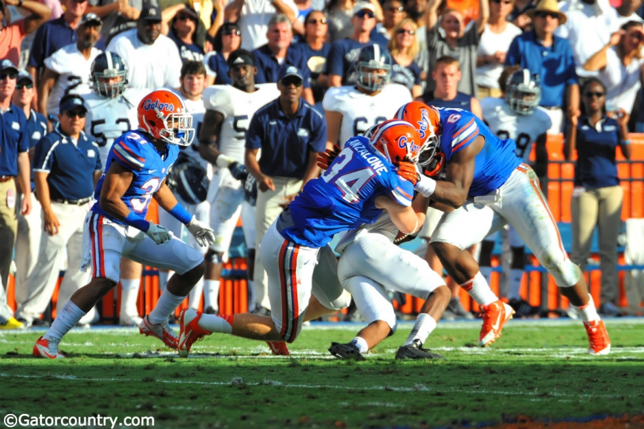 Alex Anzalone, Ben Hill Griffin Stadium, Gainesville, Florida