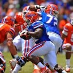 Adam Lane has decided to transfer away from Gainesville and the Florida Gators. /Gator Country photo by David Bowie.