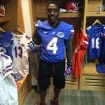 Bruce Judson visiting the Florida Gators/ Courtesy of Judson