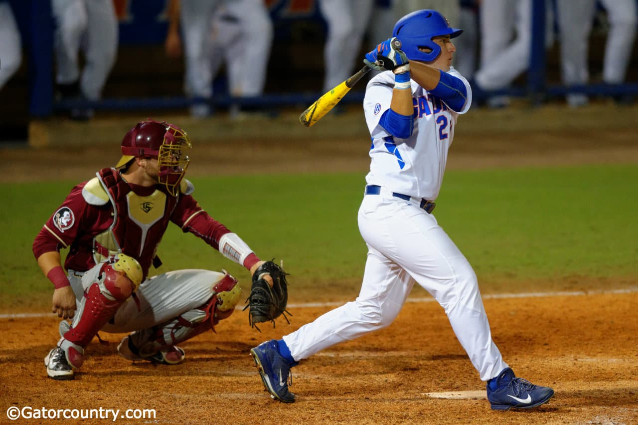 Reed, Vasquez roll the Tide, Gators win 7-4