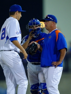 Pitching falters as Florida Gators fall to FSU
