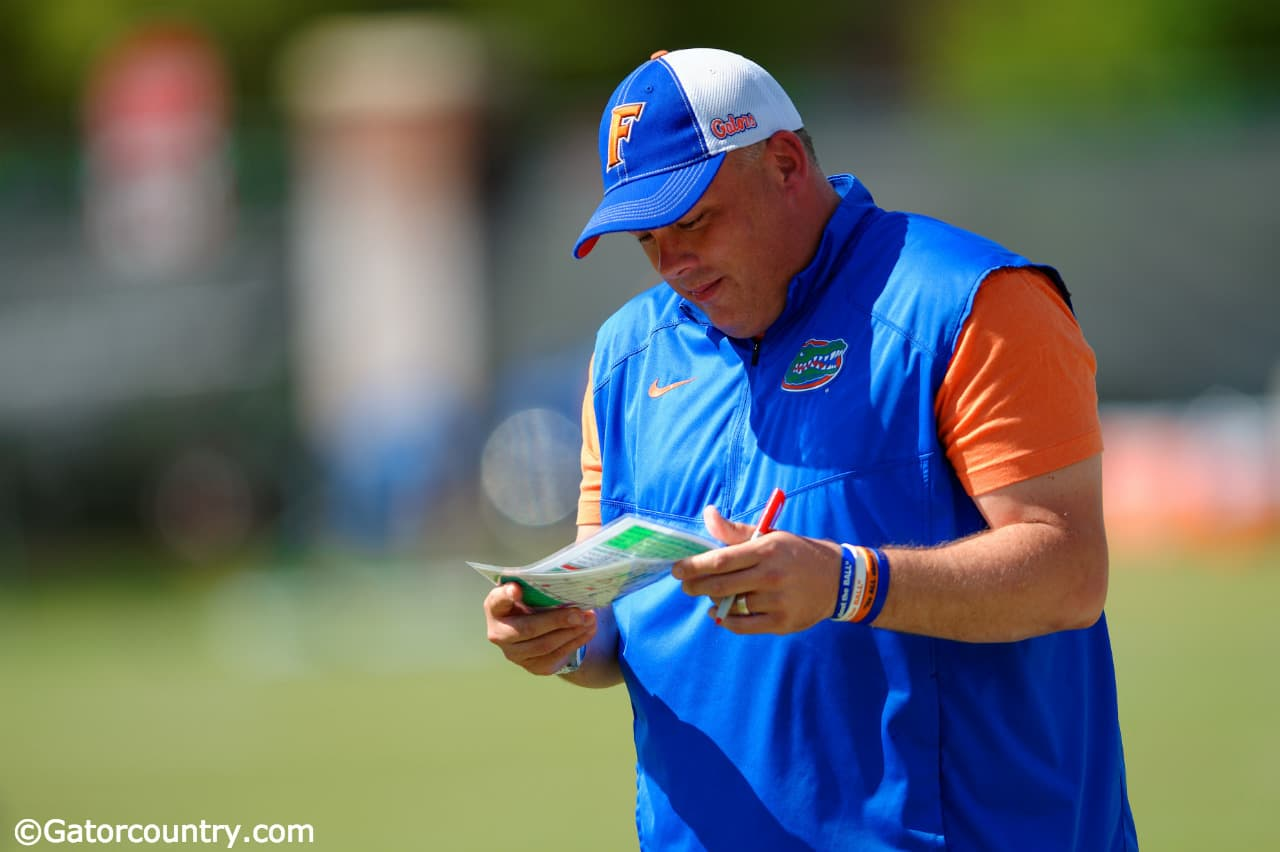 Florida Gators working on