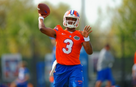 Will Grier and Treon Harris taking competition in stride