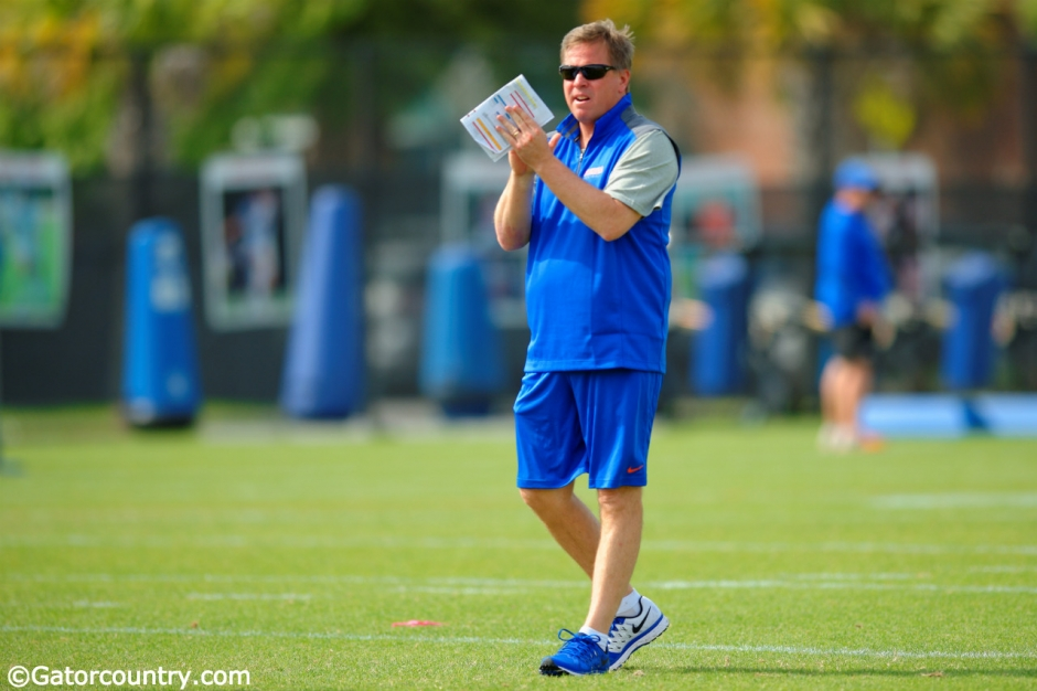 Jim McElwain, Florida Gators, University of Florida, Gainesville, Florida