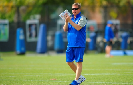 How have the Florida Gators grown since Mac's first spring?