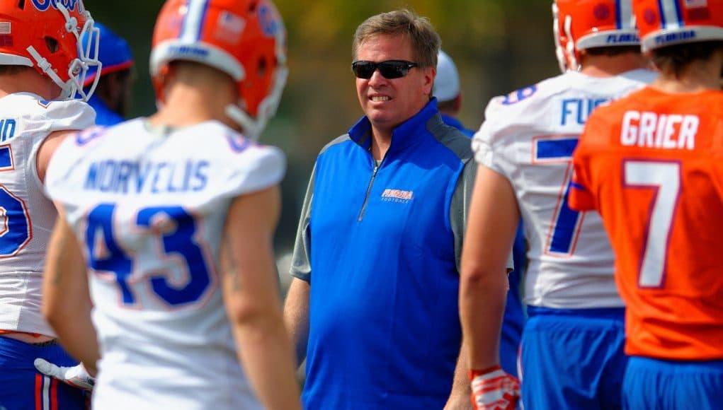 Jim McElwain, Gainesville, Florida