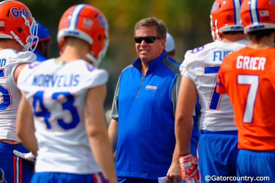 Jim McElwain, Gainesville, Florida