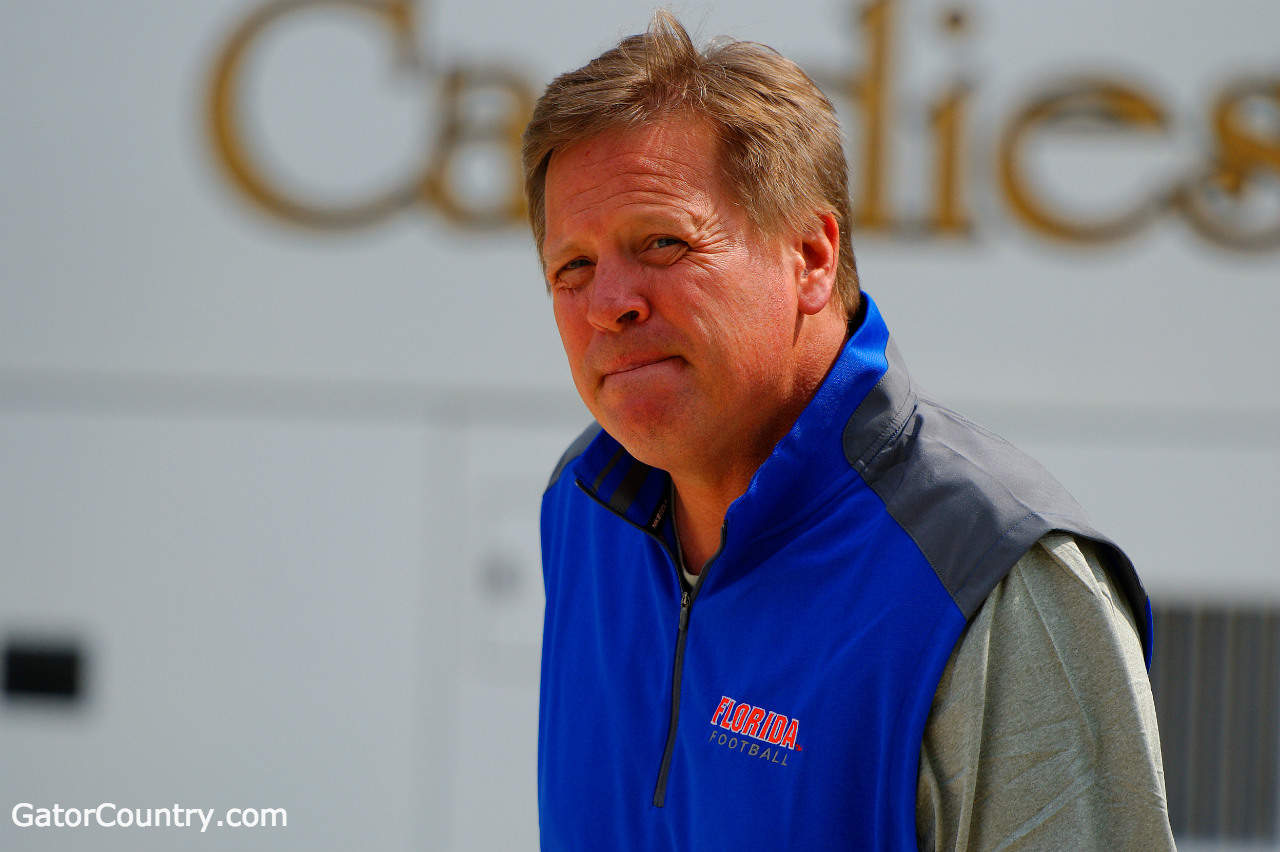 Jim McElwain, University of Florida, Gainesville, Florida