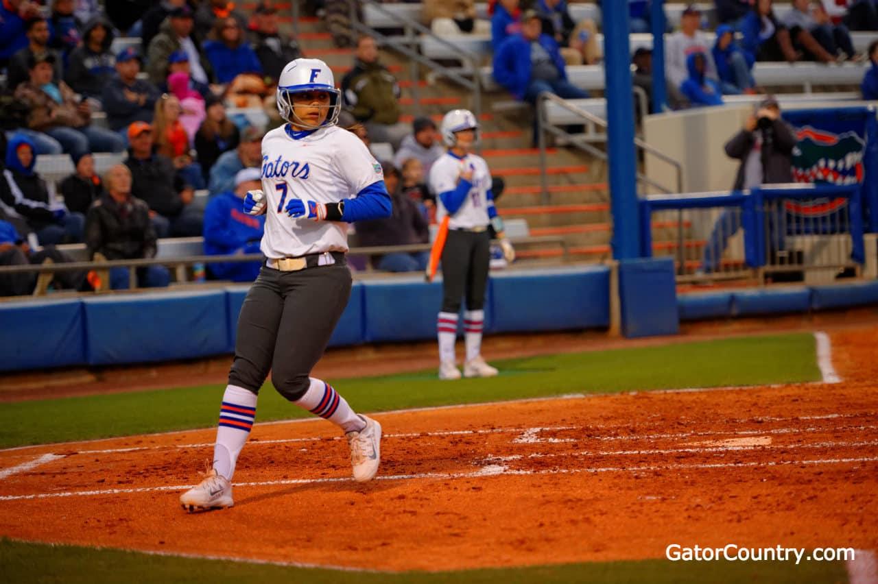 Florida Gators softball player Kelsey Stewart